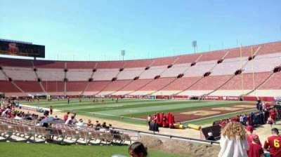 Los Angeles Memorial Coliseum section 2