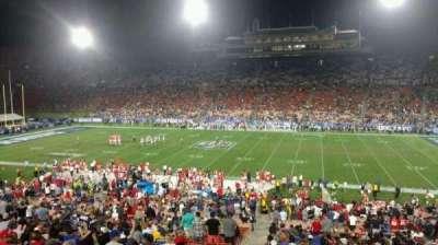 Los Angeles Memorial Coliseum, section: 21, row: 43, seat: 101
