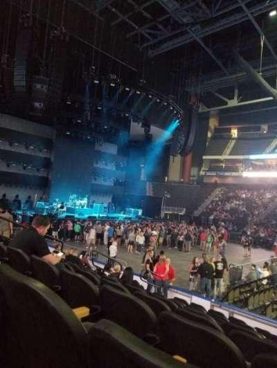 VyStar Veterans Memorial Arena section 114