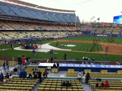 Dodger Stadium section 132LG