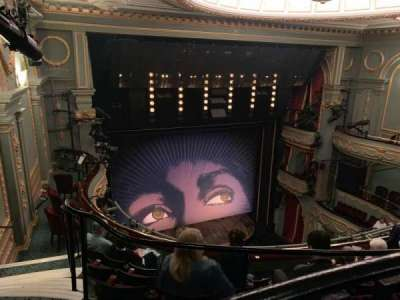 Aldwych Theatre, section: Grand Circle, row: E, seat: 30