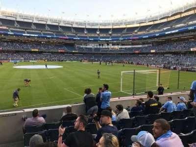 Yankee Stadium section 136