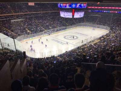Madison Square Garden, section: 220, row: 13, seat: 21