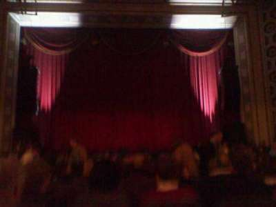Taft Theatre, section: Orchestra 2, row: S, seat: 9