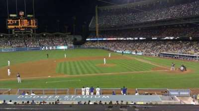 Dodger Stadium section 131LG