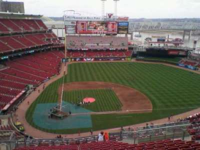 Great American Ball Park section 528