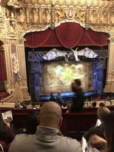 Oriental Theatre, section: Balclc , row: G, seat: 335