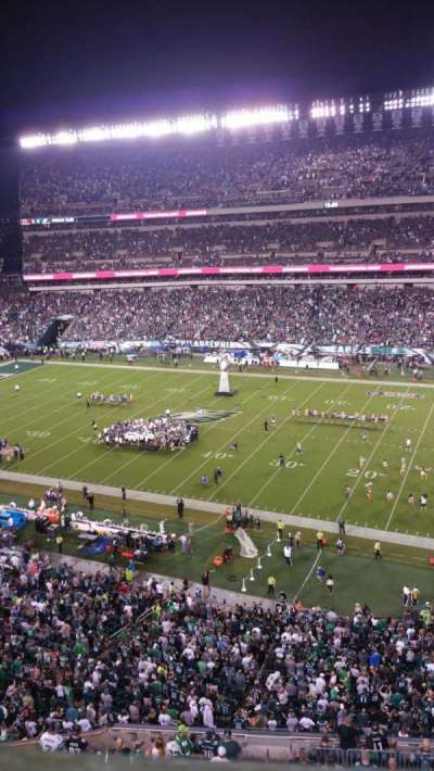 Lincoln Financial Field section 204