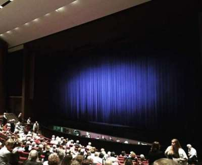 Carpenter Performing Arts Center, section: Orchestra Right, row: P