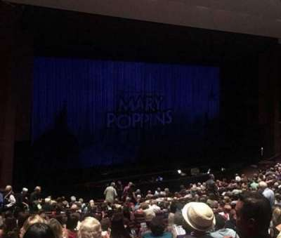 Carpenter Performing Arts Center, section: Orchestra left, row: S