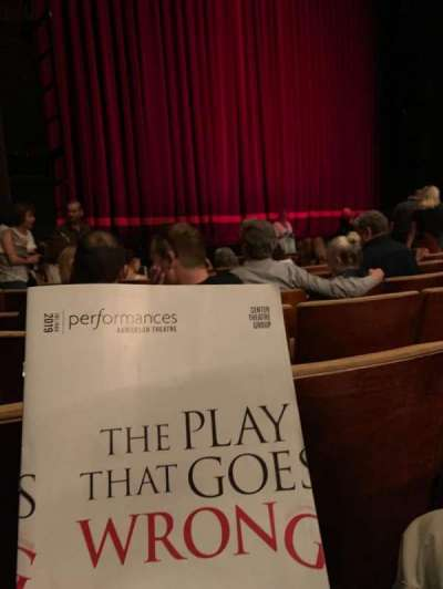 Ahmanson Theatre section Orchestra left