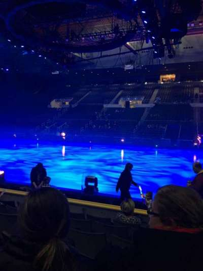 Dunkin' Donuts center, section: 107, row: JJ, seat: 1