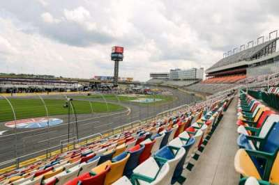 Charlotte Motor Speedway section GM General Motors E