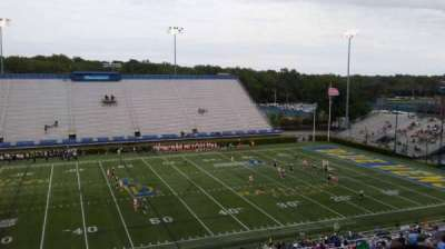 Delaware Stadium, section: E, row: PP, seat: 1