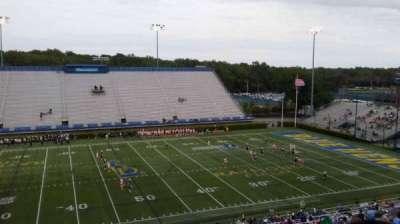 Delaware Stadium, section: E, row: PP, seat: 1
