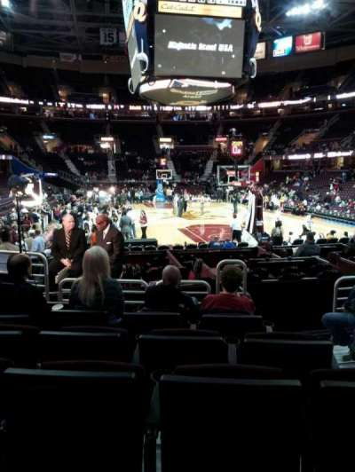 Quicken Loans Arena, section: 133, row: 6, seat: 5