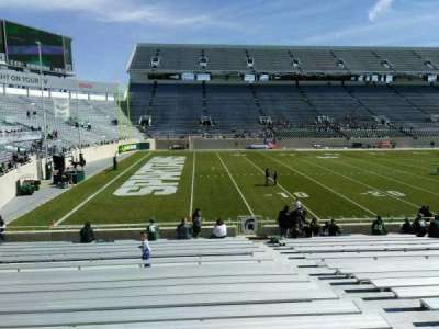 Spartan Stadium, section: 26, row: 23, seat: 23
