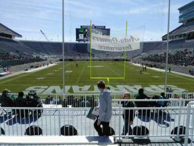 Spartan Stadium, section: 1, row: 24, seat: 42