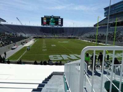 Spartan Stadium, section: 2, row: 26, seat: 40