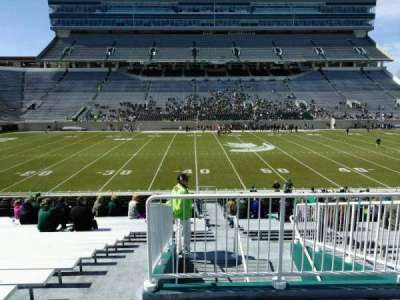 Spartan Stadium, section: 9, row: 30, seat: 19