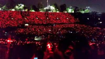 Rose Bowl, section: 16-L, row: 57, seat: 3