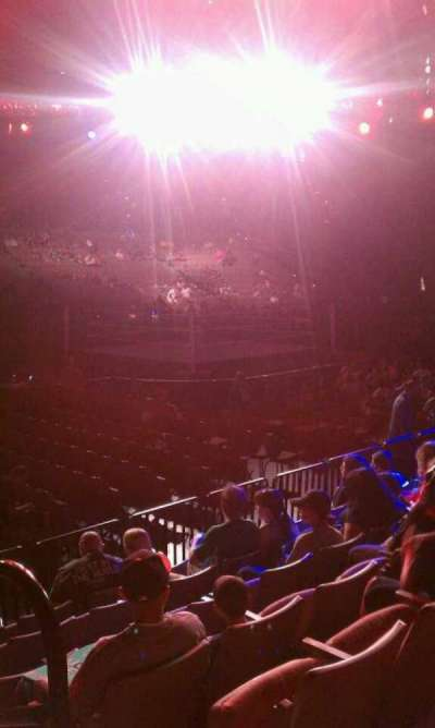 Mandalay Bay Events Center section 117