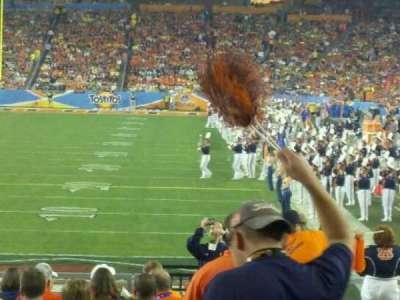 University of Phoenix Stadium, section: 139, row: 19, seat: 1