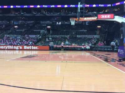 AT&T Center, section: 20, row: 1, seat: 7