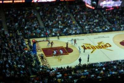 Quicken Loans Arena, section: 223, row: 14, seat: 13