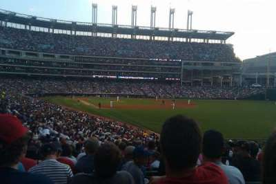 Progressive Field, section: 117, row: KK, seat: 21