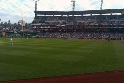 PNC Park, section: 133, row: A, seat: 17