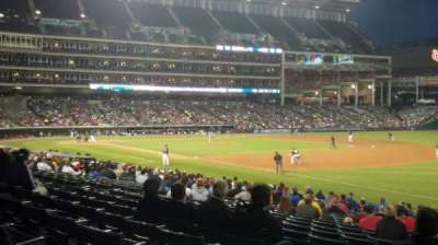 Progressive Field section 130