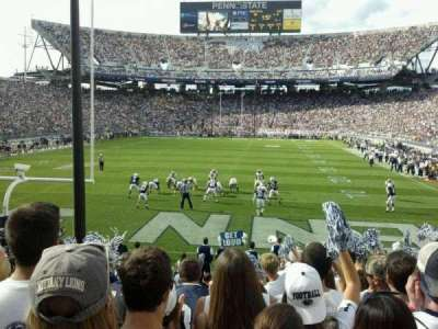 Beaver Stadium, section: SE, row: 16, seat: 5