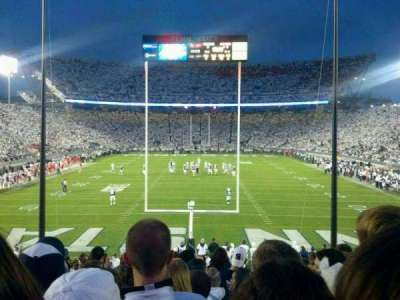 Beaver Stadium, section: SE, row: 28, seat: 22