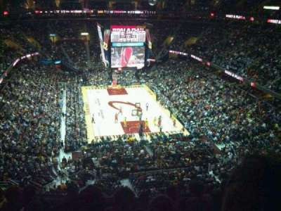 Quicken Loans Arena, section: 216, row: 8, seat: 4