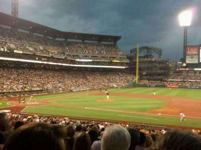PNC Park, section: 109, row: T, seat: 11