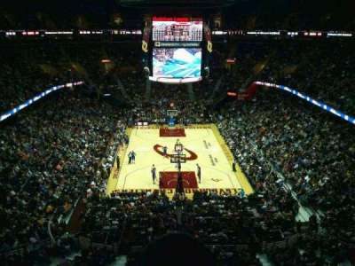 Quicken Loans Arena, section: 200, row: 2, seat: 3