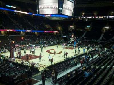 Quicken Loans Arena section 104
