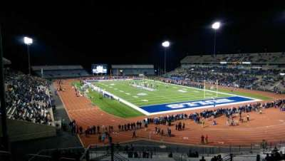 UB Stadium, section: 341, row: A, seat: 13