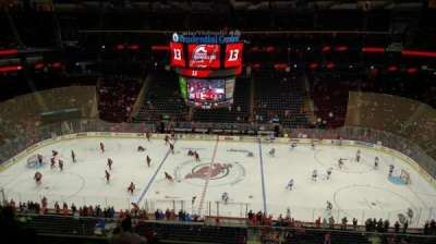 Prudential Center, section: 129, row: 7, seat: 8