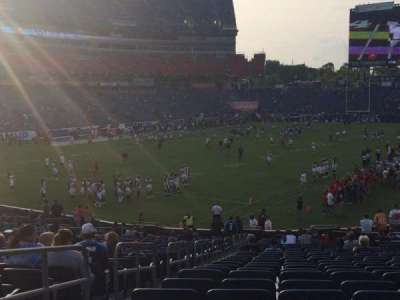 Nissan Stadium section 119