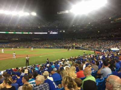 Rogers Centre, section: 129R, row: 13, seat: 1