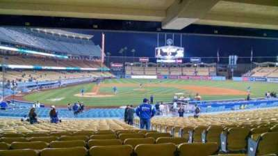 Dodger Stadium, section: 10FD, row: X, seat: 11