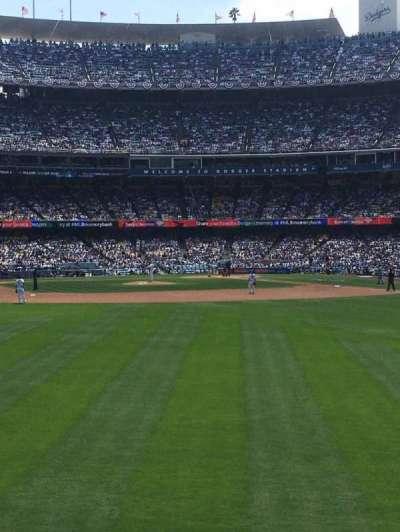 Dodger Stadium section 307PL