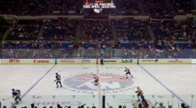 Old Nassau Veterans Memorial Coliseum, section: 217, row: G, seat: 9