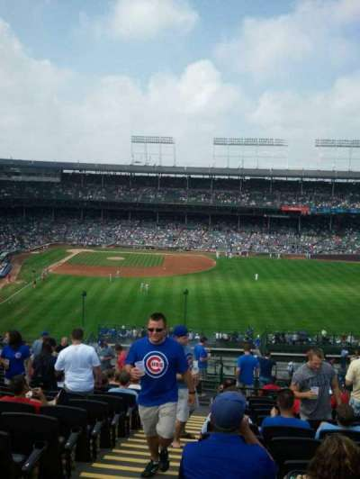 Wrigley Field, section: Ivy League Baseball Club