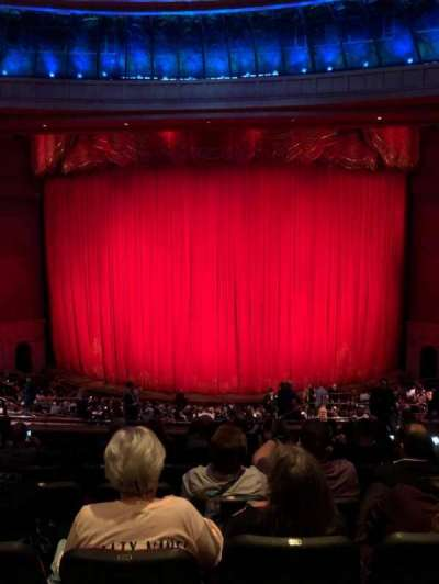 O Theatre, section: 203, row: X, seat: 19
