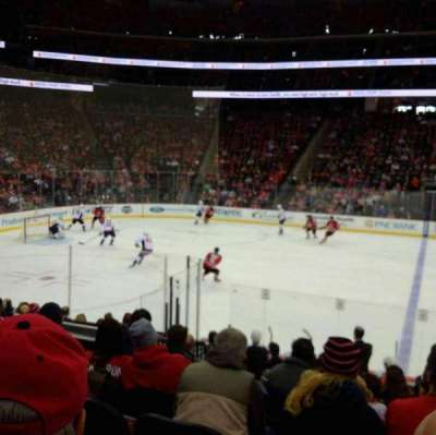 Prudential Center, section: 7, row: 12, seat: 1