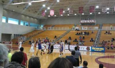 Newman Arena, section: WB, row: 6, seat: 13
