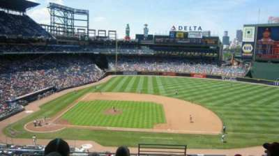 Turner Field, section: 311L, row: 7, seat: 101